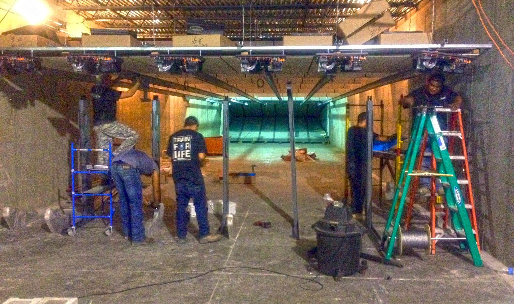 Indoor Shooting Range Construction