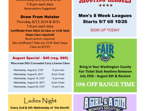 August Specials & Events