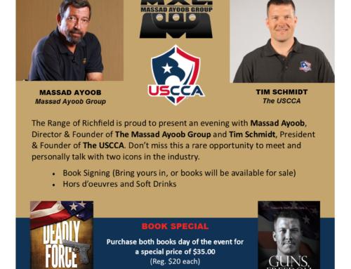 Meet & Greet with Massad Ayoob & Tim Schmidt