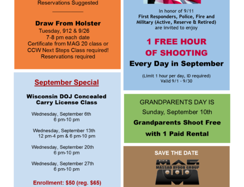 September Specials & Events