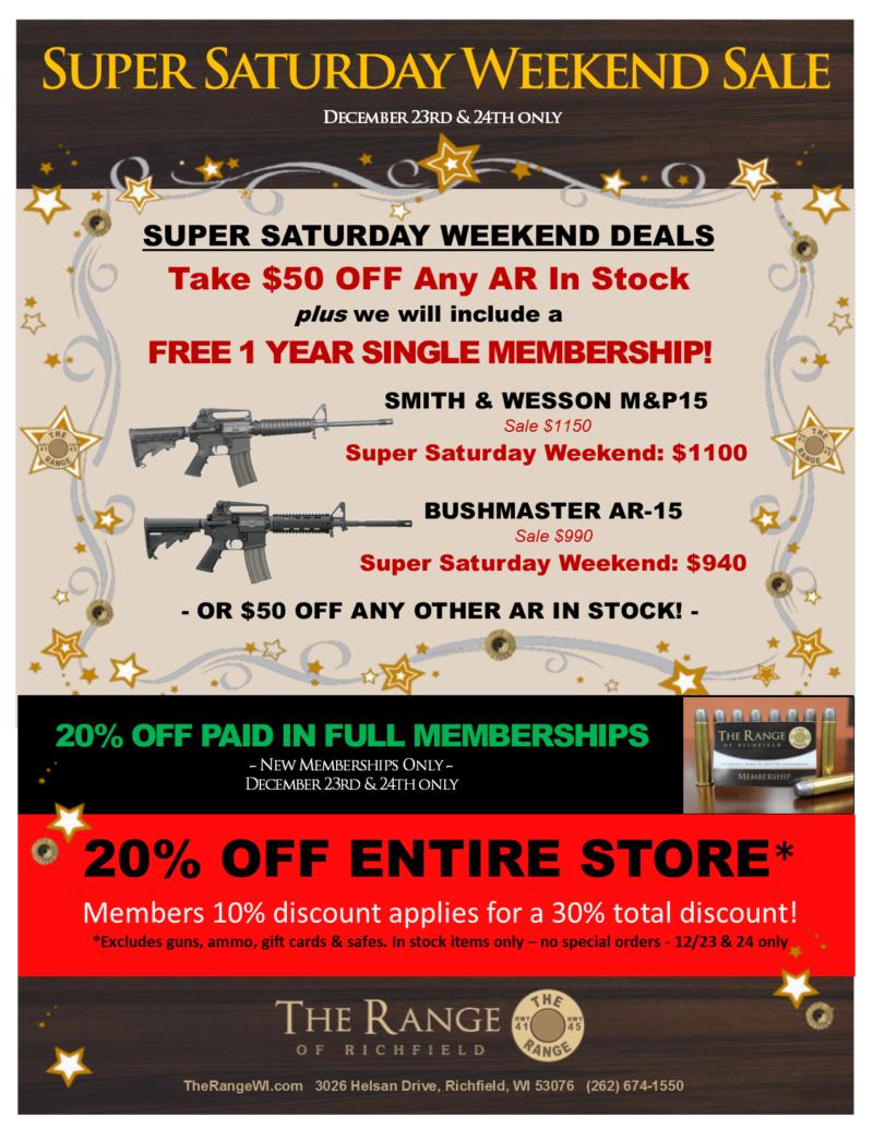 super saturday weekend sale