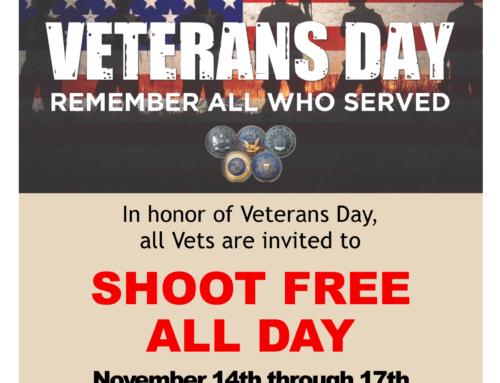 Vets Shoot Free 11/14-17!