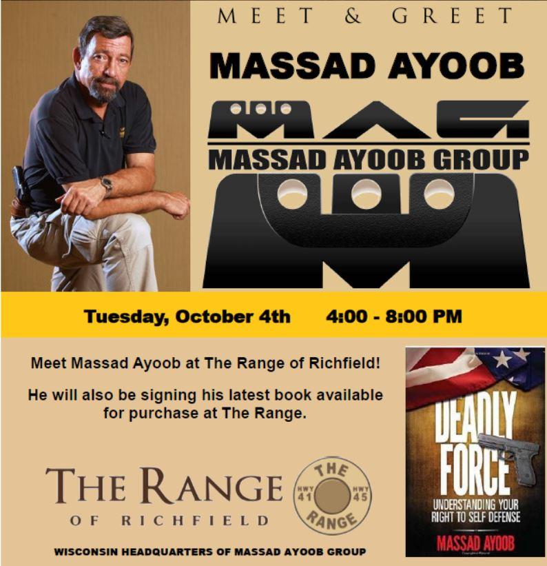 Massad Ayoob Meet U0026 Greet / Book Signing