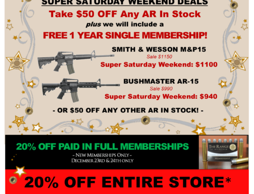 Super Saturday Weekend Sale