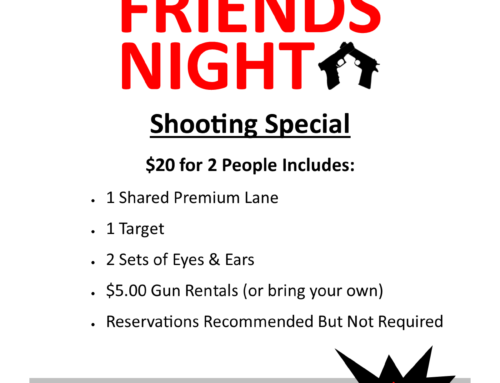 Friends Night Shooting Special